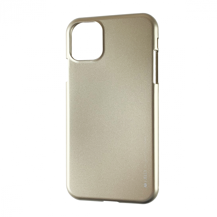 Husa silicon Goospery metal I-Jelly Iphone 11 Pro Max, Gold [0]