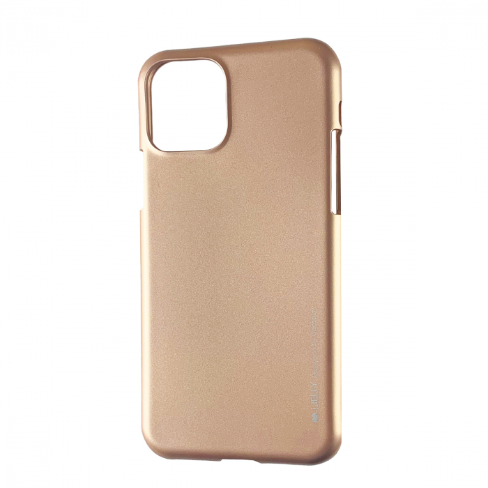 Husa silicon Goospery metal I-Jelly Iphone 11 Pro Max, Rose 0