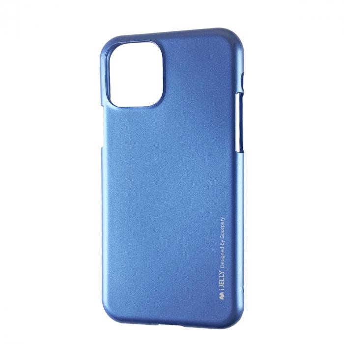 Husa silicon Goospery metal I-Jelly Iphone 11 Pro Max, Albastru [0]