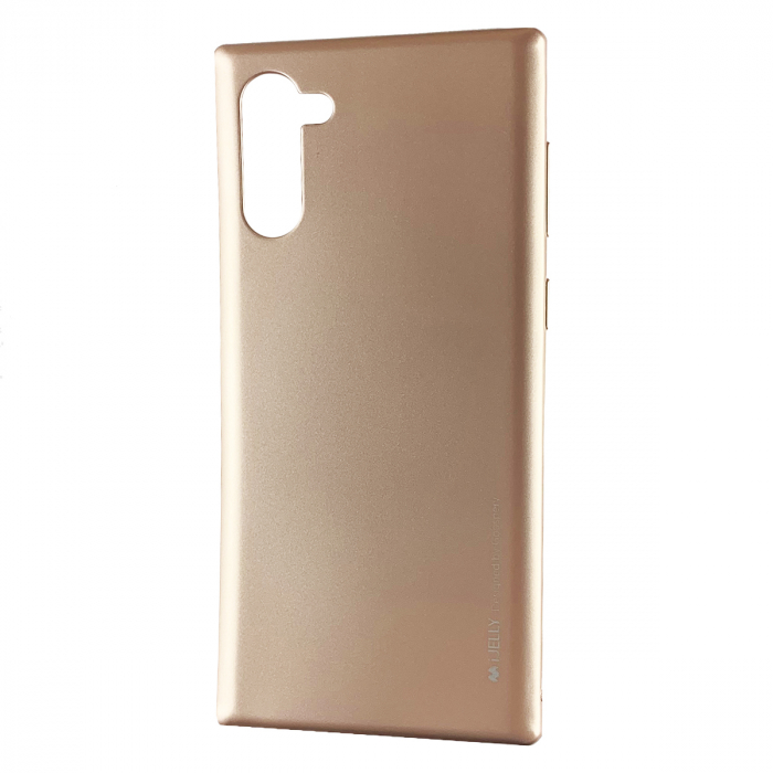 Husa silicon metal I-Jelly Samsung Note 10 - Rose 0