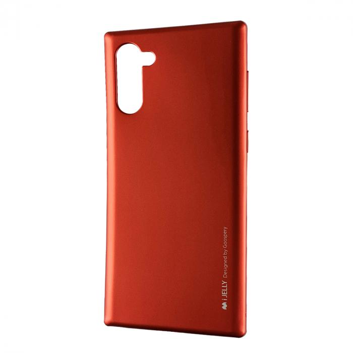 Husa silicon metal I-Jelly Samsung Note 10 - Rosu [0]