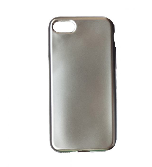 Husa silicon metalizat Iphone 6/6s - Gold 1