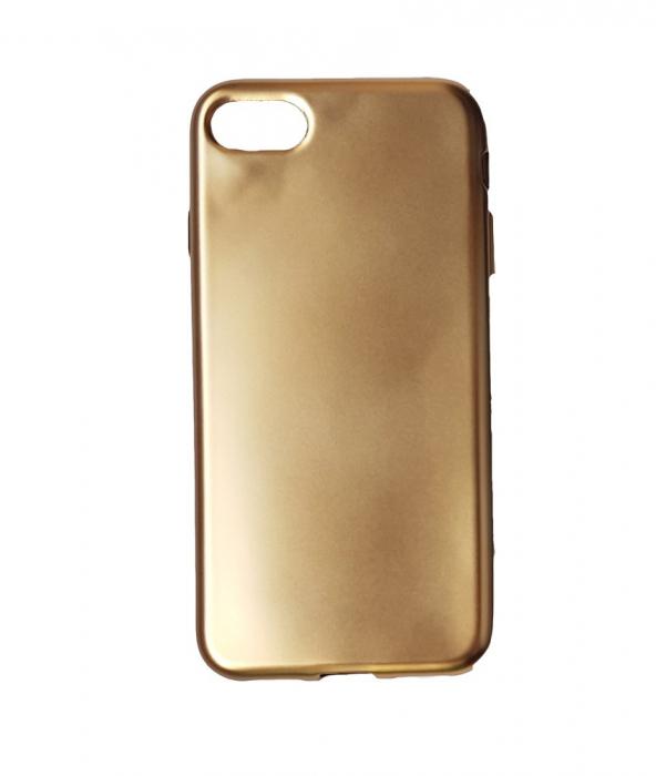 Husa silicon metalizat Iphone 6/6s - Gold 0