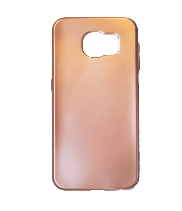 Husa silicon metalizat Samsung S7 - Rose [0]