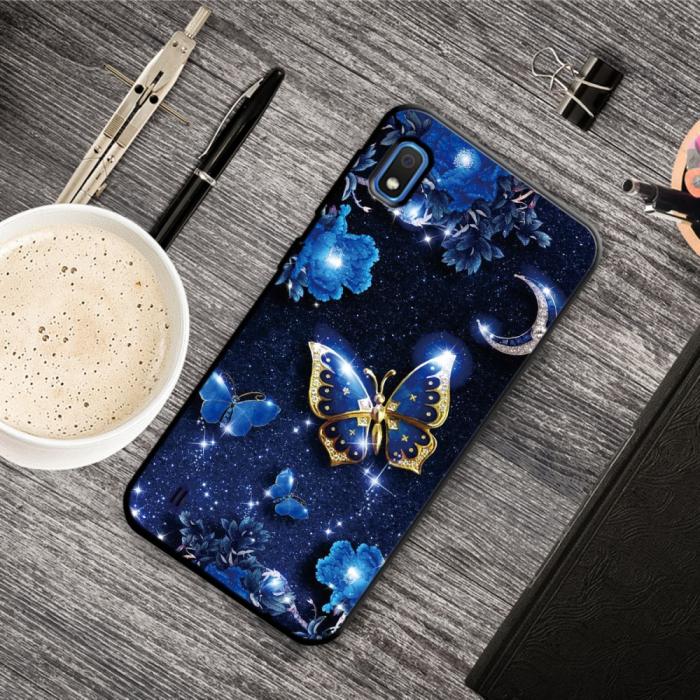 Husa silicon model fluture Samsung A10 1
