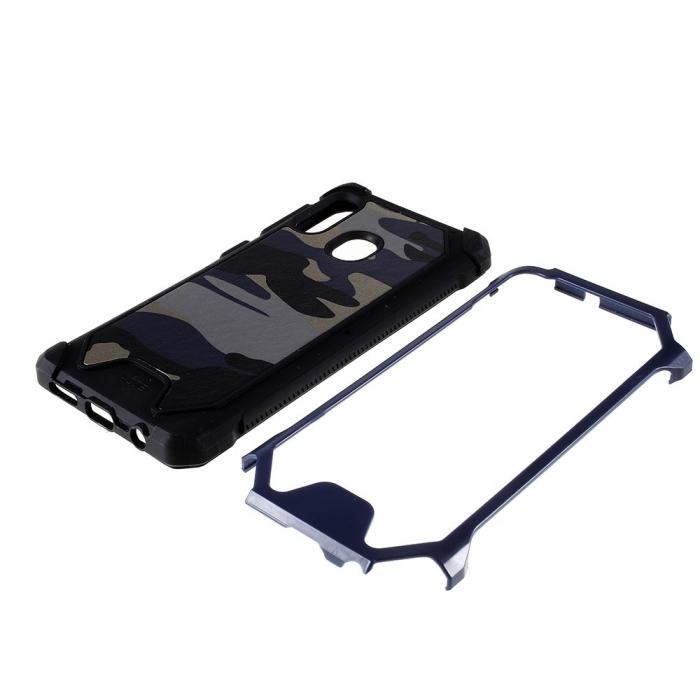 Husa army model camuflaj Samsung A20e - Albastru 1