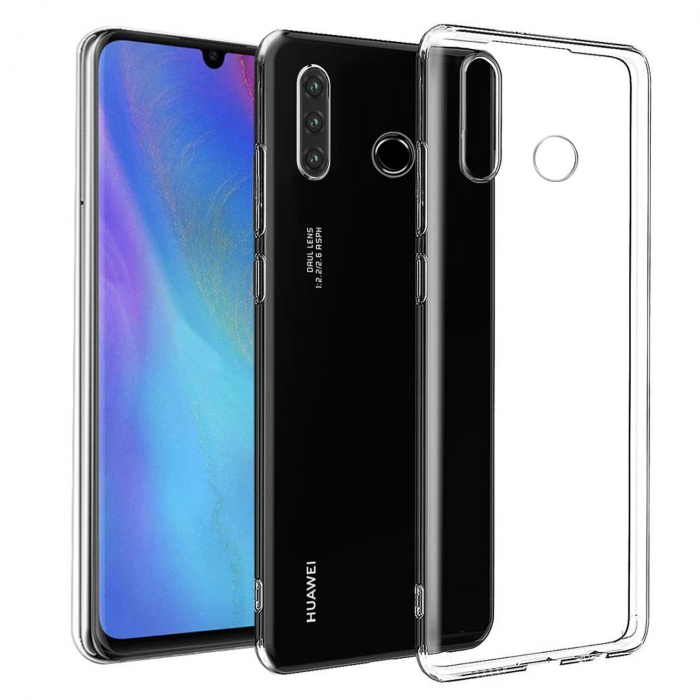 Husa silicon slim Huawei P30 Lite - transparent 0