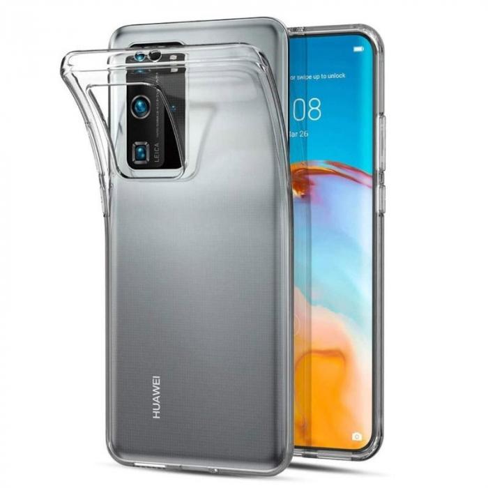 Husa silicon slim Huawei P40 Pro - transparent 0