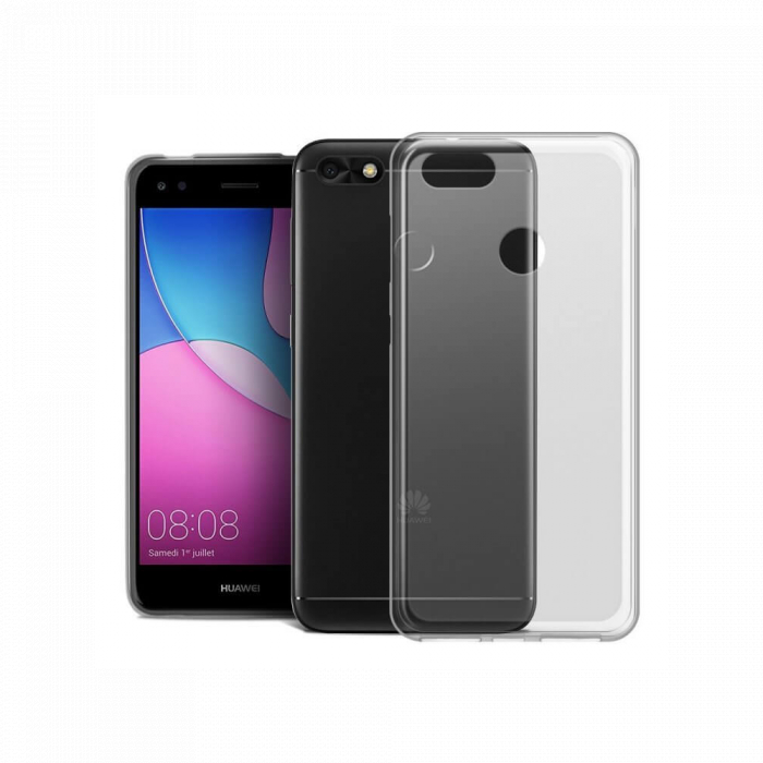 Husa silicon slim Huawei P9 Lite Mini - transparenta 0