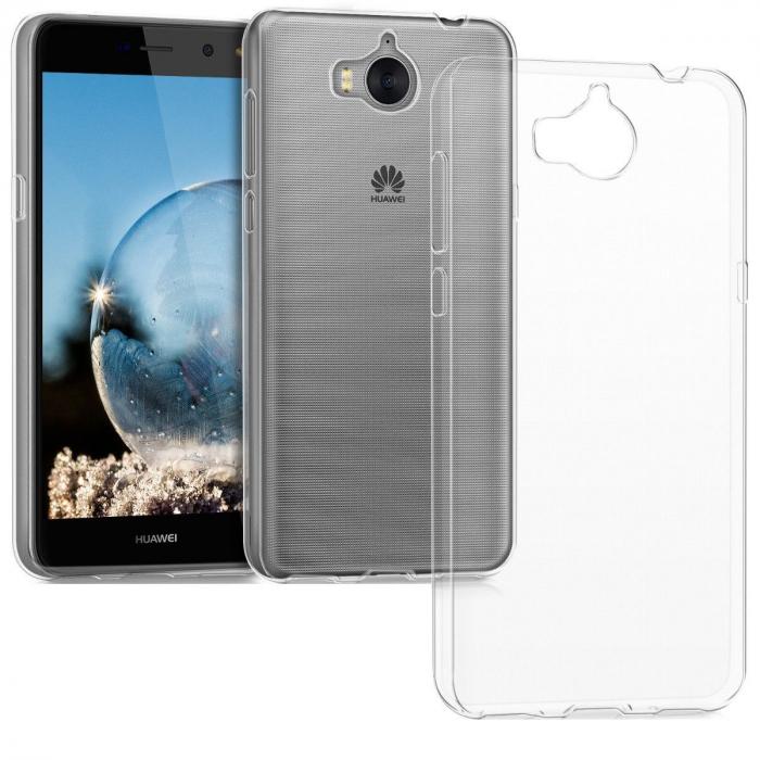 Husa silicon slim Huawei Y6 (2017) - transparenta 0