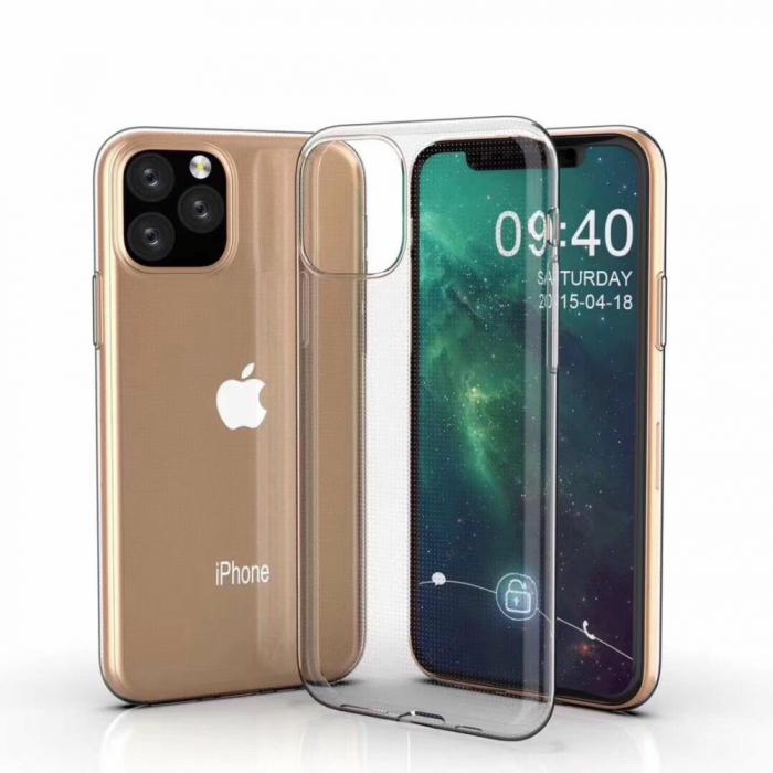 Husa silicon slim Iphone 11 Pro Max - transparent 0