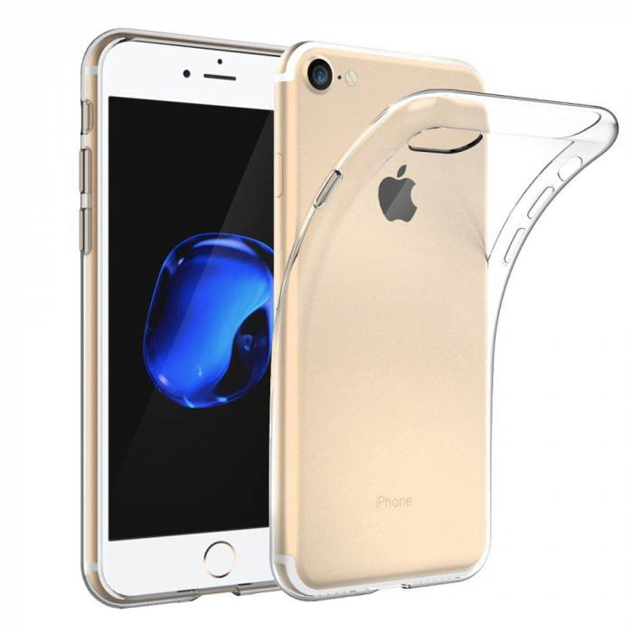 Husa silicon slim Iphone 5/5s - transparenta 0