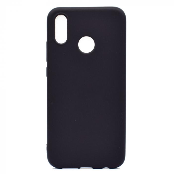 Husa silicon slim mat Huawei P20 Lite - Negru 0