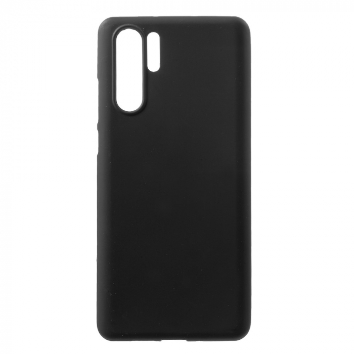 Husa silicon slim mat Huawei P30 Pro - negru [0]