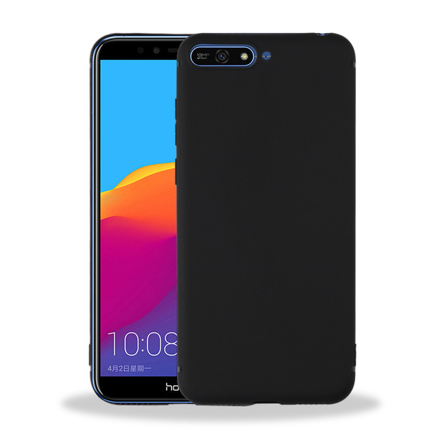 Husa silicon slim mat Huawei Y7 Prime 0