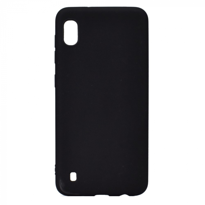 Husa silicon slim mat Samsung A10 - negru 0