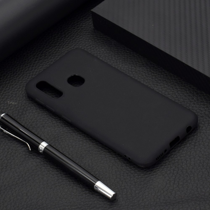 Husa silicon slim mat Samsung A20e - negru [1]
