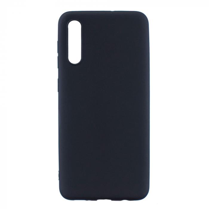 Husa silicon slim mat Samsung A50 - negru [0]