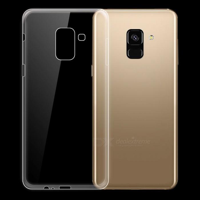 Husa silicon slim Samsung A5/A8 (2018) - transparenta 0