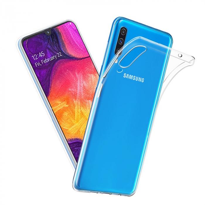 Husa silicon slim Samsung A50 - transparent 0