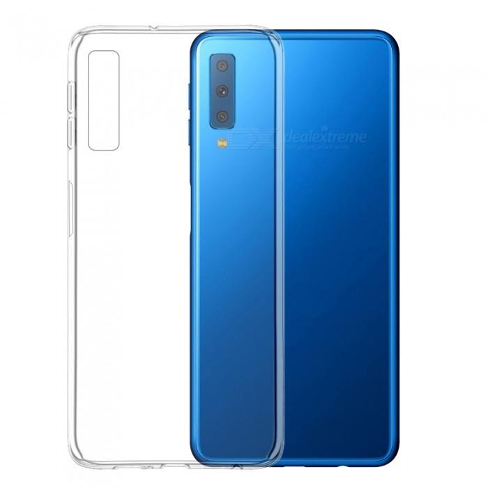 Husa silicon slim Samsung A7 (2018) - transparenta 0