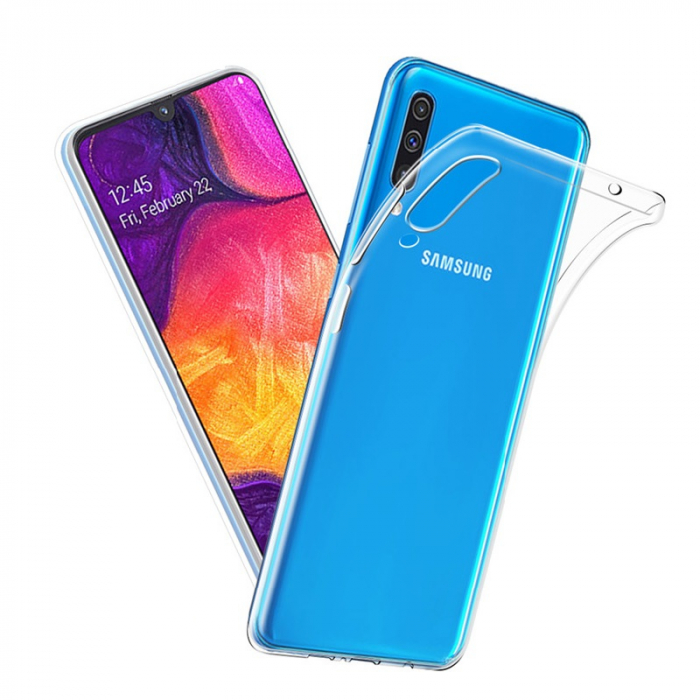 Husa silicon slim Samsung A70 - transparent 0