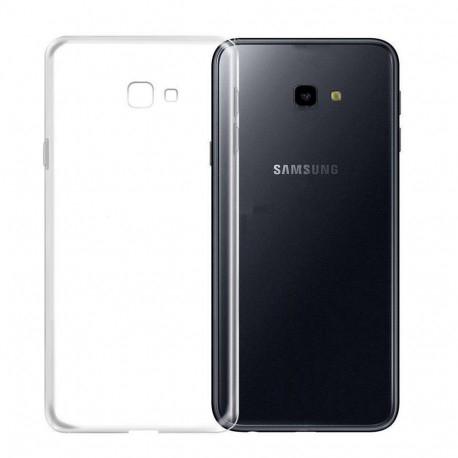 Husa silicon slim Samsung J4 plus - transparenta 0