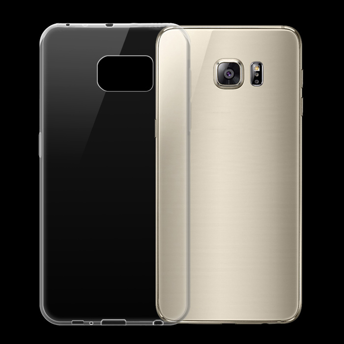 Husa silicon slim Samsung S6 Edge - transparenta 0