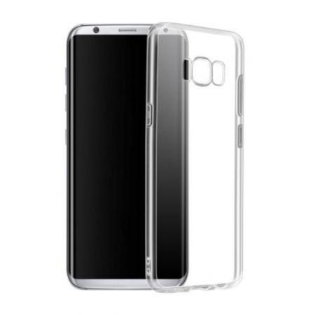 Husa silicon slim Samsung S8 - transparenta 0