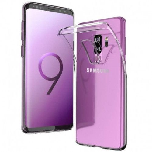 Husa silicon slim Samsung S9 plus - transparenta [0]
