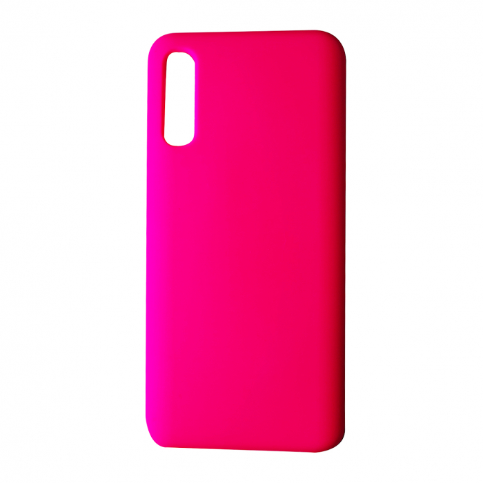 Husa silicon soft mat Iphone 11 -Roz neon 0