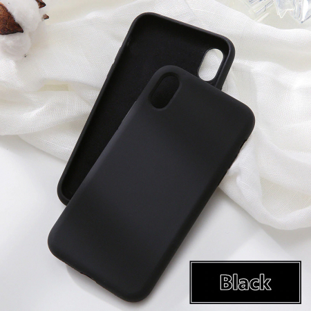 Husa silicon soft mat Iphone 11 - Negru 0