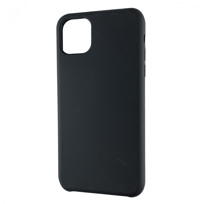 Husa silicon soft mat Iphone 11 Pro Max - Negru 0