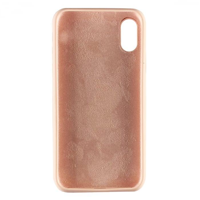Husa silicon soft mat Iphone X/Xs - Rose 1