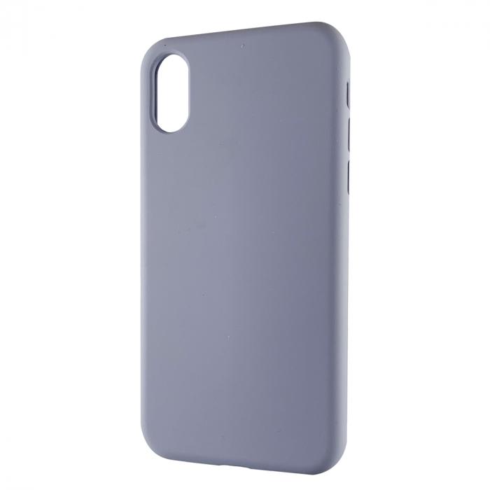 Husa silicon soft mat Iphone X/Xs - Gri Albastrui 0