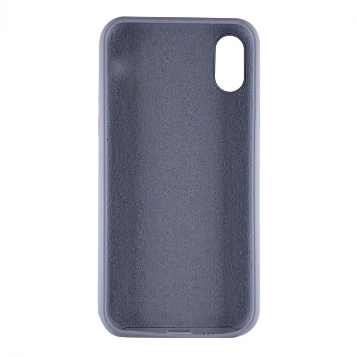 Husa silicon soft mat Iphone X/Xs - Gri Albastrui 1