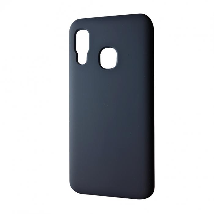 Husa silicon soft mat Iphone Xr - Albastru inchis 0