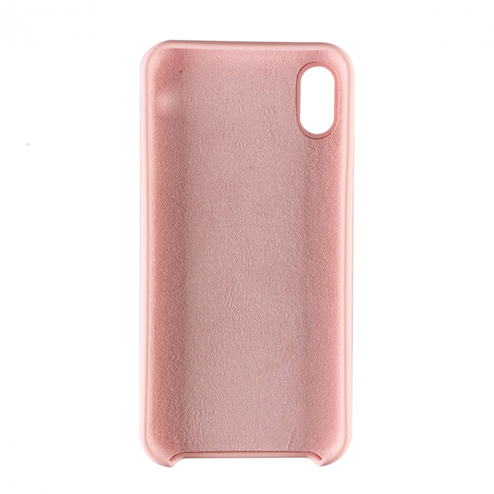 Husa silicon soft mat Iphone Xs Max - Rose 1