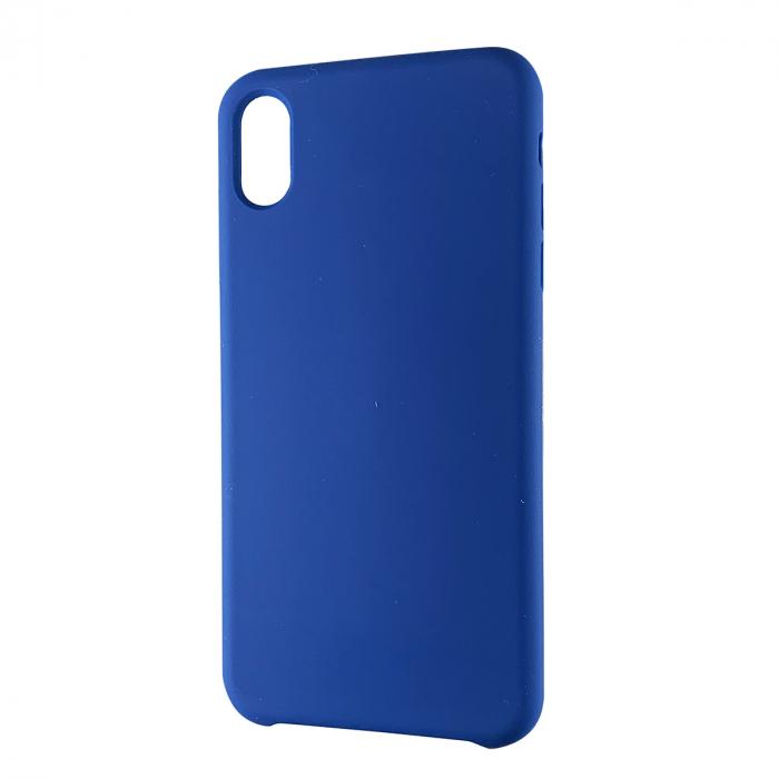 Husa silicon soft mat Iphone Xs Max - Albastru 0