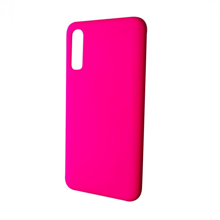 Husa silicon soft mat Samsung Galaxy A20e - Roz 0