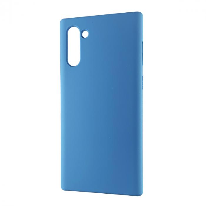 Husa silicon soft mat Samsung Note 10 - Albastru 0