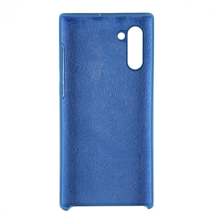 Husa silicon soft mat Samsung Note 10 - Albastru 1