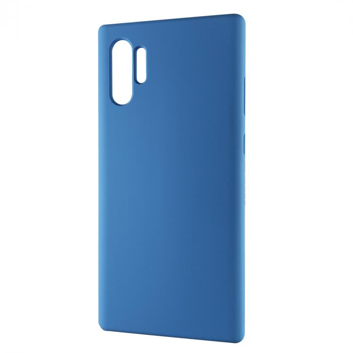 Husa silicon soft mat Samsung Note 10 Plus - Albastru 0