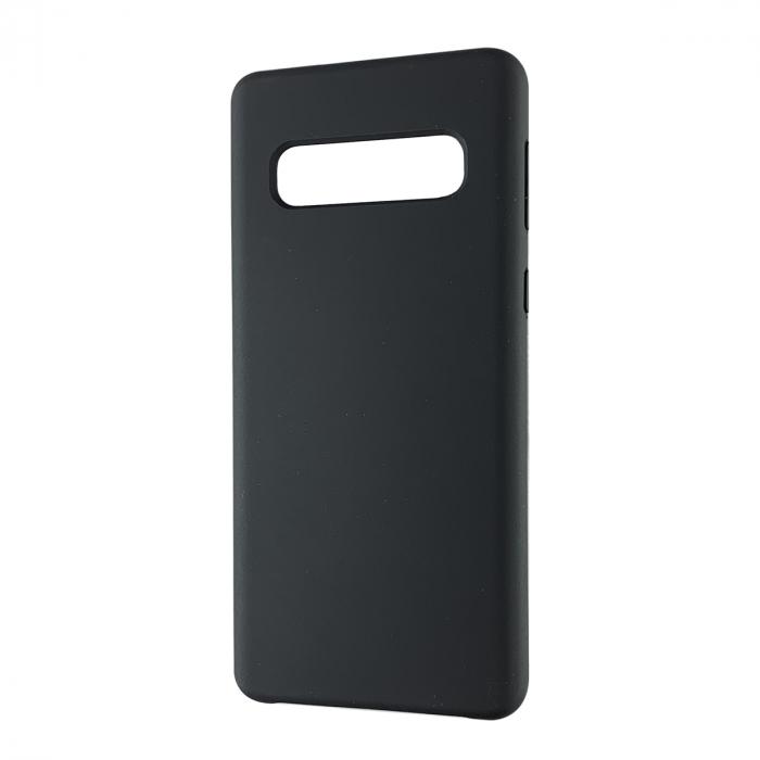 Husa silicon soft mat Samsung S10 Plus - Negru 0