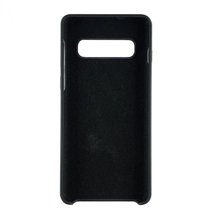Husa silicon soft mat Samsung S10 Plus - Negru 1