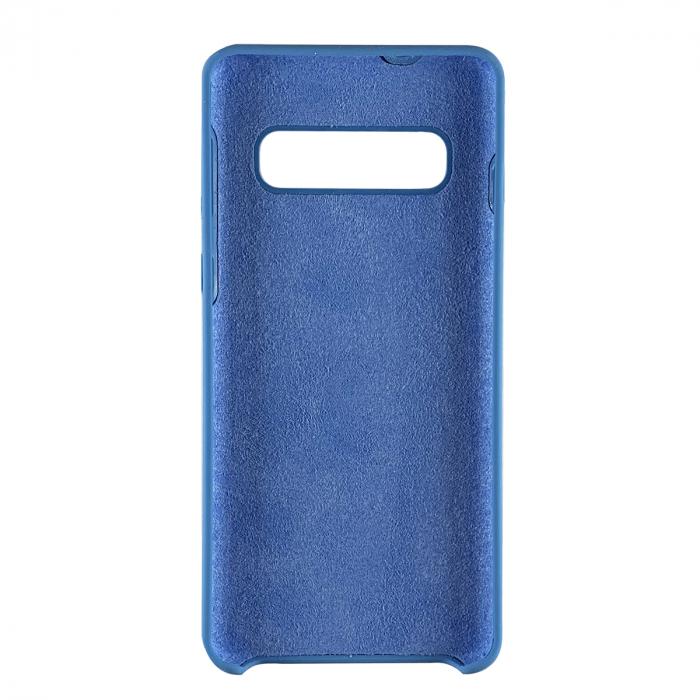 Husa silicon soft mat Samsung S10 Plus - Albastru [1]