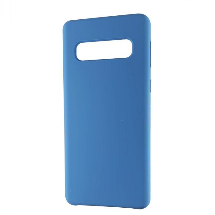 Husa silicon soft mat Samsung S10e - Albastru 0