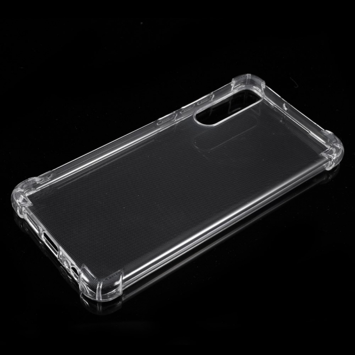 Husa silicon transparent anti shock Huawei P30 0
