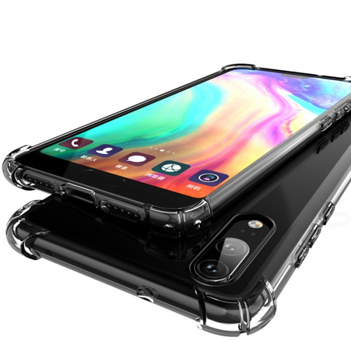 Husa silicon transparent anti shock Huawei Y6 (2019) 1