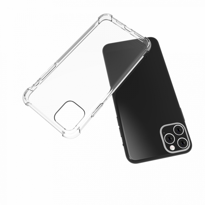 Husa silicon transparent anti shock Iphone 11 2